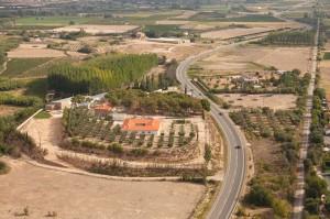 Cascante, Fotografia Aerea, Rural Suite, Via Verde del Tarazonica.