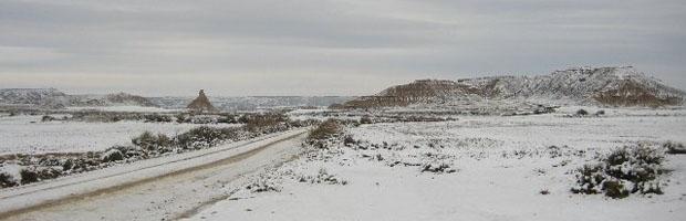 Las Bardenas Reales Nevadas
