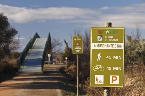 Bicicleta, Navarra, Senderismo, RuralSuite,Tudela, Via Verde del Tarazonica