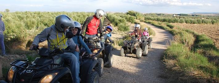 Rutas en Quad tambien para niños