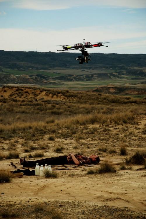Toma aérea con hexacóptero
